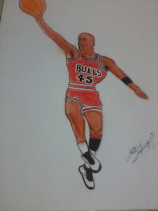 Michael Jordan by ricardo22522